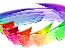 абстракция цветастая Стоковые Фотографии RF