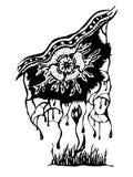 Абстракция цветка и заводов фантазии Стоковое Изображение RF