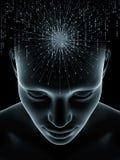 Абстракция человеческого разума стоковые фото