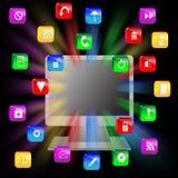 Абстракция 10.12.12 компьютера Стоковые Изображения RF
