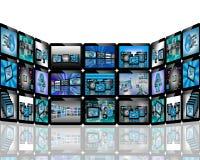 Абстракция TV Стоковые Изображения