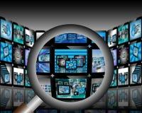 Абстракция TV Стоковая Фотография RF