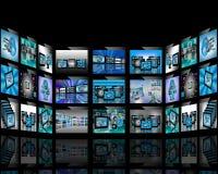 Абстракция TV Стоковые Фотографии RF