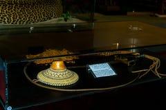 Абу-Даби /UAE- 13-ое ноября 2017: Интерьеры шейха Zayed Выставки в Абу-Даби Стоковые Изображения