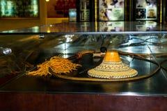 Абу-Даби /UAE- 13-ое ноября 2017: Интерьеры шейха Zayed Выставки в Абу-Даби Стоковая Фотография