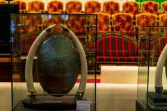 Абу-Даби /UAE- 13-ое ноября 2017: Интерьеры шейха Zayed Выставки в Абу-Даби Стоковая Фотография RF