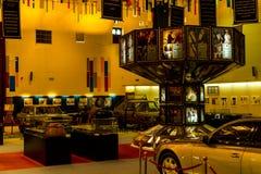 Абу-Даби /UAE- 13-ое ноября 2017: Интерьеры шейха Zayed Выставки в Абу-Даби Стоковое Изображение RF