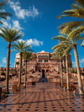 Абу-Даби, дворец эмиратов Стоковое Фото