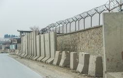 Аванпост Афганистана военный стоковое изображение rf
