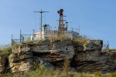 Аванпост и маяк границы стоковая фотография rf
