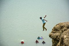 Авантюрное место - озеро Khanpur, Пакистан Стоковые Изображения RF