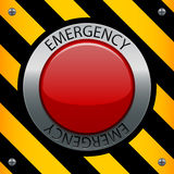 аварийная ситуация кнопки Стоковое Изображение RF