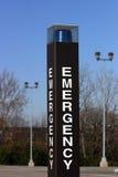аварийная ситуация маяка Стоковое Фото