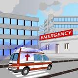 Аварийная ситуация Иллюстрация вектора