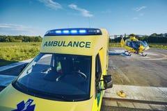 Аварийное медицинское обслуживание стоковая фотография rf
