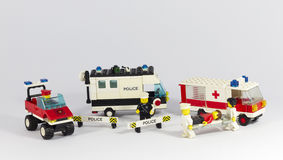 аварийные машины Стоковое Изображение RF