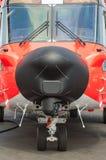 Аварийный вертолет спасения стоковое изображение rf