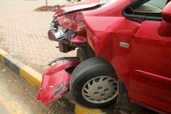 Авария автомобиля Стоковые Изображения