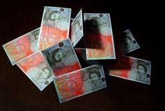 Авария валюты стоковые изображения rf