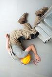 Авария на работе стоковые фотографии rf