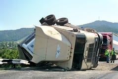 Авария тележки Стоковая Фотография RF