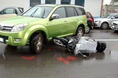 авария урбанская Стоковое Изображение RF