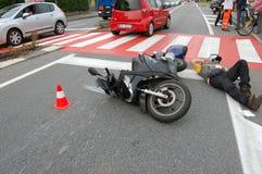 авария урбанская Стоковое фото RF