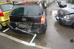 авария урбанская Стоковые Фотографии RF