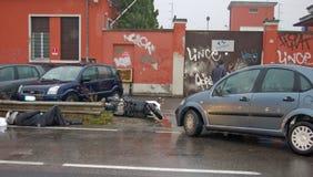 авария урбанская Стоковое Фото