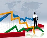 авария финансовохозяйственная иллюстрация вектора
