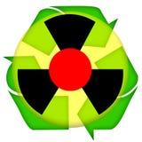 авария ядерная Стоковое Фото
