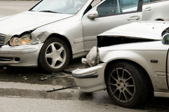 авария Стоковая Фотография