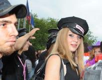 августовская улица zurich парада 14-ые 19th 2010 Стоковое фото RF