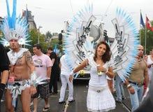 августовская улица zurich парада 14-ые 19th 2010 Стоковые Фотографии RF