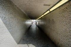Август 2017, Wickford, Essex, подземный переход на главной улице стоковое фото rf
