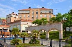 Авейру, Португалия: городская архитектура стоковые фото