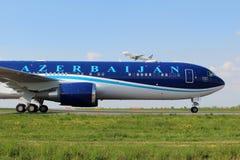Авиакомпании Азербайджана стоковое изображение