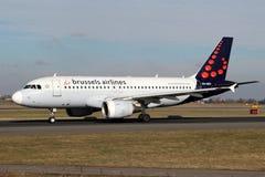 Авиакомпании Брюсселя Стоковые Изображения
