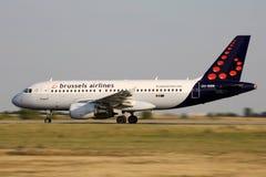 Авиакомпании Брюсселя Стоковое фото RF