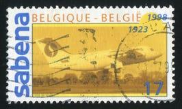 Авиакомпании Сабены стоковое изображение