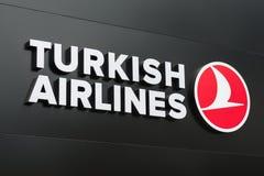 авиакомпании турецкие стоковое фото