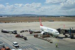 авиакомпании турецкие Стоковое Изображение RF