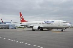 авиакомпании турецкие Стоковое Изображение