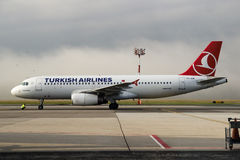 авиакомпании турецкие Стоковые Изображения