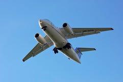 Авиакомпании Antonov An-148 AeroSvit Стоковые Изображения RF