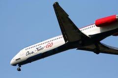 Авиакомпания MD-80 12GO стоковая фотография rf