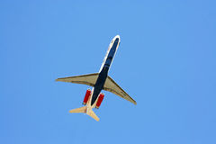 Авиакомпания MD-80 12GO Стоковые Изображения