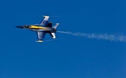 авиаотряд военно-морского флота демонстрации ангелов голубой мы стоковое фото rf