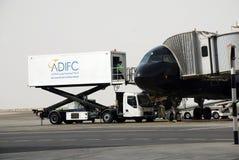 Авиапорт Абу-Даби Стоковые Изображения RF