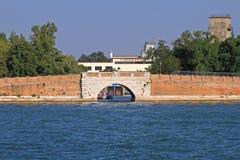 Авиапорт Венеции Lido Стоковые Изображения
